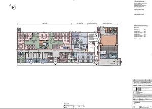 Ritningar av Ettelva arkitekter, maj 2018. Plan 1.