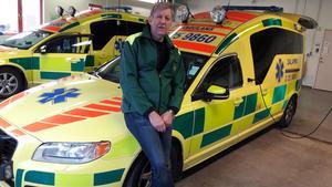 Hans Sandgren, chef för ambulansen i Sälen, ser stora samordningsvinster om blåljusorganisationerna går samman i en gemensam satsning.