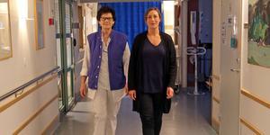 Enhetscheferna Rose-Marie Söderquist och Frida Lassen, för ortopedi avdelning 15 resopektive akutmottagningen, är positiva till att akut ortopedi införs i Sollefteå igen.