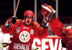 Jonas Johnson tog ett SM-guld med Brynäs under sin aktiva karriär. Han vann ytterligare två under sin tid i Frölunda. Arkivbild: Leif Jäderberg