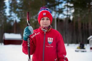 Max Hammarström, hockeyspelare i Timrå IK U11.
