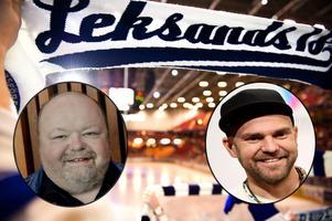 Kalle Moraeus och Stiko Per Larsson – hängivna LIF-fans.