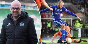 Mycket har förändrats sedan senast Giffarna mötte AFC i Allsvenskan. Marcus Danielson spelade i GIF (nu i Djurgården) och Chidi Omeje i AFC (nu i GIF). Foto: Sara Carlzén/TT (Montage).