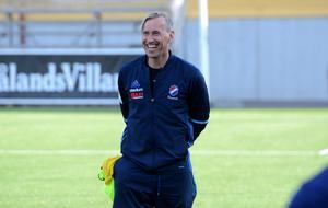 Kvarnsvedens tränare Fredrik Bengtsson hade all anledning att vara nöjd med försvaret och arbetsinsatsen borta mot topplaget.