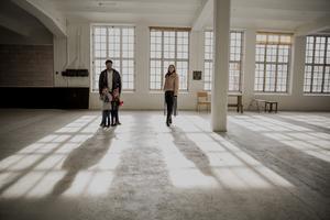 Familjen Frejd-Wedmark vill skapa ett kreativ plats i den gamla fabriken.