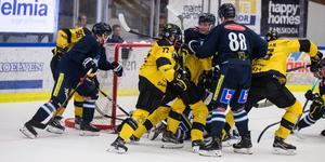 Tuff fight mellan VIK och Karlskoga.