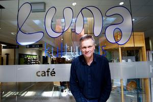 Hösten 2010 blev Anders Lerner chef för Luna kulturhus i hemstaden Södertälje. Foto: Paola N Andersson