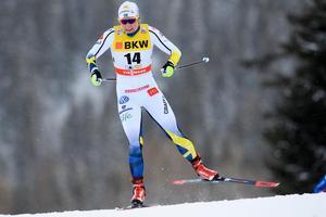 Hanna Falk vann världscupen i Dresden. Bild från ett tidigare tillfälle.