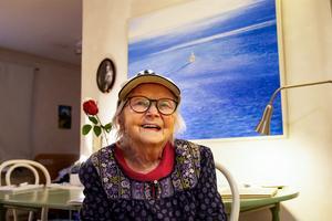 Connie Dellkrantz fyller jämt, 100 år den 20 oktober.