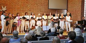 Kulturskolans damkör Argentum ska sjunga i samband med Kulturnattas invigning i Missionskyrkan.
