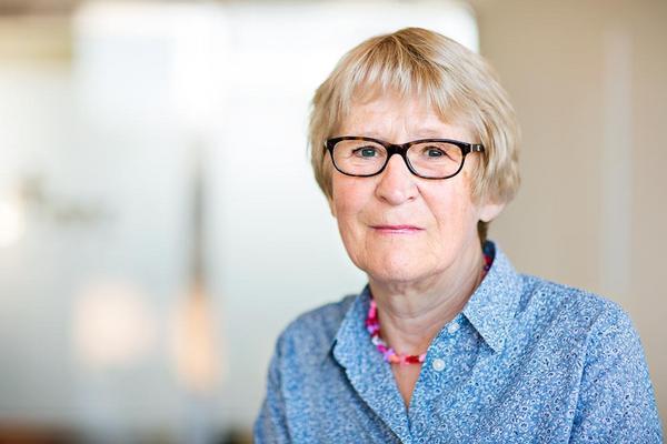 Stina Holmberg, , forsknings- och utredningsråd på Brottsförebyggande rådet. Fotograf: Lieselotte van der Meijs.
