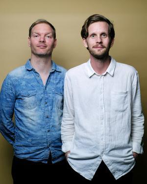 Robin Olovsson och Daniel Hermansson startade den populära Historiepodden för drygt fem år sedan. Bild: Sven Prim