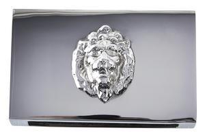 10. Tändsticksaskfodral med lejon, 399 kronor på Newport.