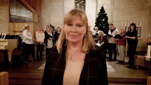Helena Cronholm leder konserten på söndag, andra advent.