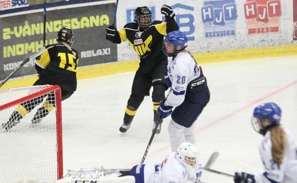 Aisha Sheikh – målskytt mot Leksand.
