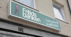 Fritidsbanken på Vasagatan 10 i centrala Smedjebacken väntas bli välbesökt.