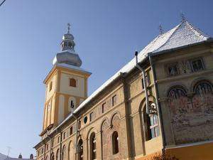Den ortodoxa kyrkan i Ciorans barndomsstad Rășinari. Foto: Andrei Kokelburg