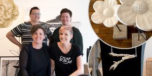 Kreatörsnätverket High Coast Creative öppnar en pop up-butik på Storgatan där de säljer lokalproducerad design.