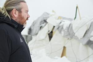 En dyster syn för Per Löfgren – klubbchef i Ljusdals IF och ordförande i hallbolaget.