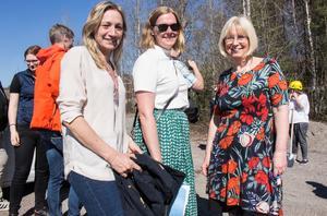 Nu startar bygget av nya äldreboendet i Falun. Anna Djärv Danielsson är biträdande byggprojektledare, Sandra Gossas byggprojektledare och Rose-Marie Ring sakkunnig.