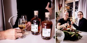 Henrick Hahlén och Jens Zetterlund släpper en ny flaska rom på måndag. Den här gången landar 83 flaskor på marknaden.