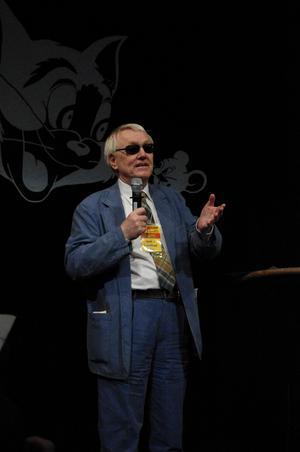 Den svenske författaren Sam J. Lundwall. Foto: Staffan Vilcans