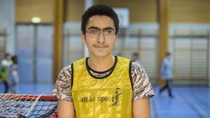 Malik Abazzed gillar skarpt att Åvestadalsskolans idrottsförening har återuppstått