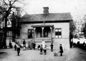 Barnhemmet Sparvboet.  Foto: VLT