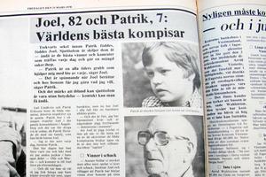 Klipp från Fagersta-Posten den 31 mars 1978.