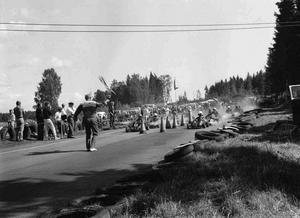 1964 byggde medlemmarna i MK Ran en egen gokartbana i Duvnäset. Där tävlade bland andra Ronnie Peterson.