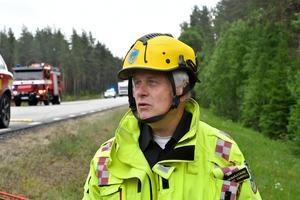 Räddningsledare Lennart Embro.