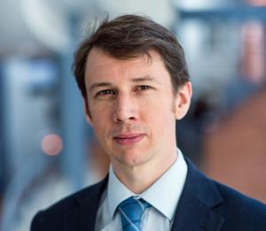 Jonathan Howell är presschef för Internationella Engelska Skolan, som är på väg till Östersund. Foto: IES.