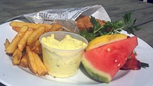 Fish & chips.Foto: Lunchkollen