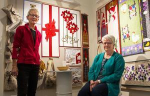 Hittills har Kristina Larsson och Rut Sundkvist mest gett bort sina alster i present till släkt och vänner. Men de hoppas även kunna nå ut längre med sina skapelser.