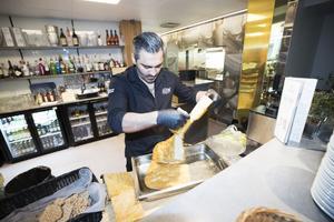 Shady Bachaalani jobbar dubbelt för att få snurr på Le Chef. Arbetsdisciplinen och rutinerna kommer bland annat från uppväxten på internatskola.