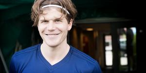 GIF Sundsvalls Oliver Berg är efter två månader med i matchtruppen igen.