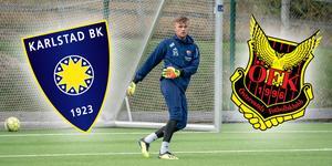 Oscar Jonsson har efter flera år i Djurgården lämnar för Karlstad BK. I dag ska han försöka stoppa ÖFK. Bild: Nobbes Djurgårdsbilder.