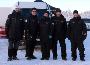 Rallycampens crew på Trötänga isbana var nöjda med att kunna bjuda på fantastiska vintervägar.