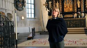 Karin Sarja, kyrkoherde.