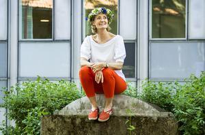 I sitt sommarprat skulle Bibi Rödöö prata om sig själv och hon skulle se till att programmet fick låg skrytfaktor.