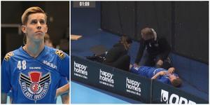 GGIK-centern Rasmus Arvidsson skadade knät mot Bele Barkarby.