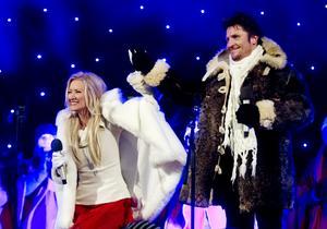 Anna och Martin Hanning Häggströms julshow kommer att äga rum på Stadshusverandan.