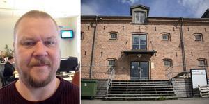 Vd Ulrik Norkvist tycker att det är tråkigt att Datakompisen måste flytta från Söderhamn och lokalen på Tullhuset.