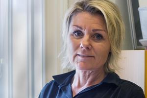 Marina Widaeus säger att hon har många mål och visioner för centrumföreningen i Köping för att få till en mer levande centrumkärna.