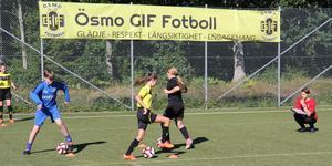 Milans fotbollsprofil på Vanstaskolan i Ösmo.
