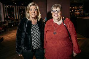 Yvonne Malmqvist och Lena Ståhlberg firade Lenas födelsedag med att gå på konsert.