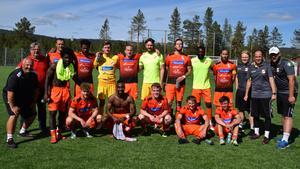 Ytterhogdal vann med 3-1 mot Gällivare. Foto: Börje Larsson