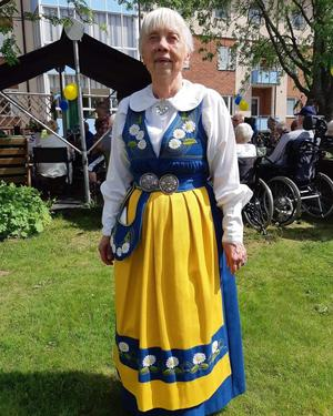 Inga-Britt West. Läsarbild: Carina Nordqvist.