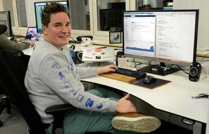 Som systemutvecklare kan man jobba inom olika områden. Stefan Wallin är specialiserad på apputveckling.