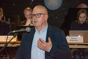 Bosse Svensson (C), kommunstyrelsens ordförande i Östersund.